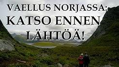 Kvalvika vaellus, Lofootit, Norja INFO