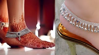 Silver Payal | Silver Anklets designs | Bride payal with price