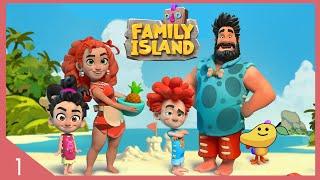 เอาชีวิตรอดบนเกาะกับภรรเมียและลูกๆ - Family Island - ep.1 screenshot 2