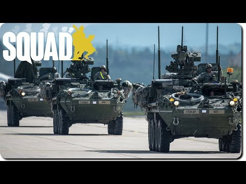 Squad 9.5 ► Stryker Column Engages (Ft. Karmakut)