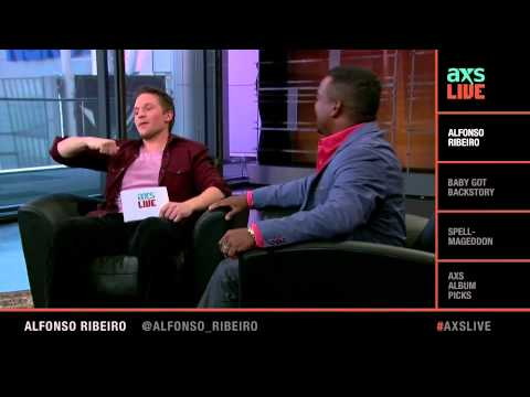 Alfonso Ribeiro Interview on AXS Live