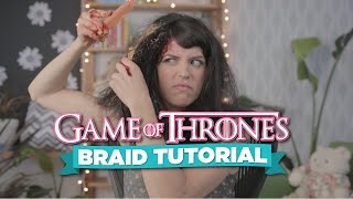 Repeat youtube video How to Braid Your Hair Like in Game of Thrones