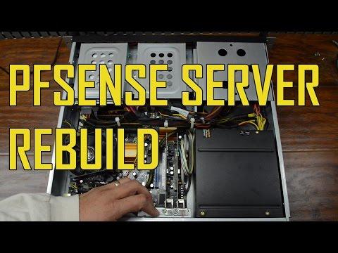 PFSense Firewall Server Rebuild