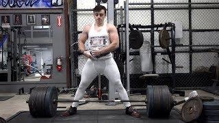 650 lbs Deadlift w/ Hookgrip