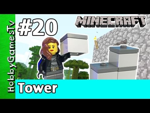 Minecraft Trixie 20 Tower Build Webcam HobbyPig Xbox 360 by HobbyGamesTV