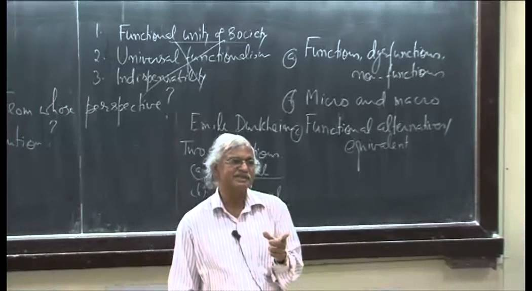 Mod-01 Lec-38 Social Problems and Theory