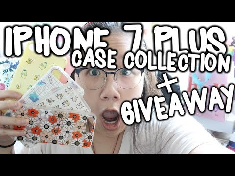 Huge IPhone 7 Plus Case Collection & Giveaway!