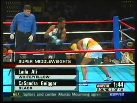 Laila Ali vs Casandra Geiggar pt 1