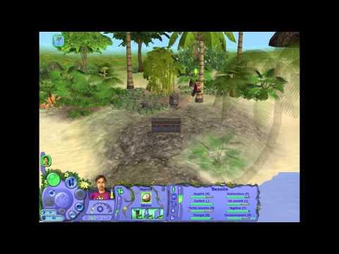 Les Sims 2, Histoire de naufragé - Chapitre 1 - Appelez moi David Barrière ! poster