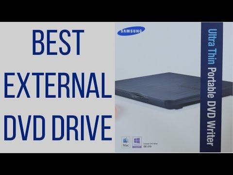 Best External DVD Drive For Mac & PC? Samsung SE-218CB
