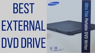 Best External DVD Drive for Mac & PC? Samsung SE-218CB