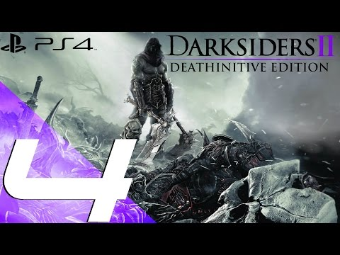 Darksiders II Deathinitive Edition PS4 - Walkthrough Part 4 - Shattered Forge [1080p 60fps]