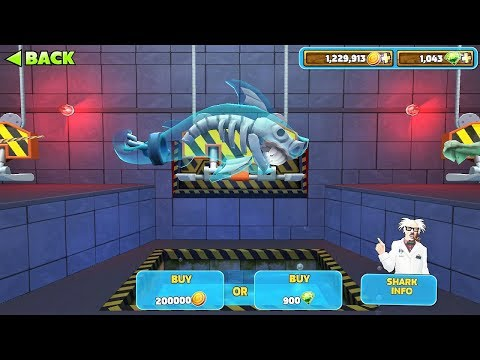 Hungry Shark Evolution Ghost Shark Android Gameplay