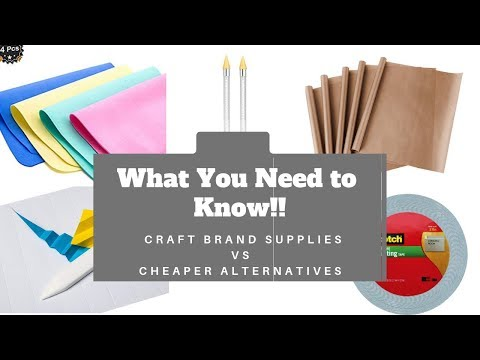 How to Save Lots of Money When Buying Craft Tools | Comparing Quality and Price