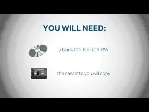 Coomber Audio Recorder - How To Copy From Cassette To CD