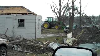 March 2nd Tornado Damage in Saluda Township (Chelsea) Indiana