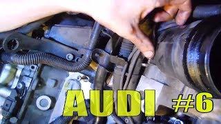 Audi a6 c6 |⚒| Датчик давления масла, Корпус масляного фильтра ||  Ремонт своими руками Aуди A6 #17