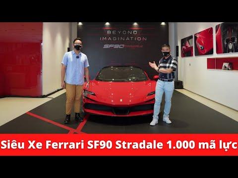 Khám phá siêu xe Ferrari SF90 Stradale 1.000 mã lực có giá 1,5 triệu đô tại Việt Nam