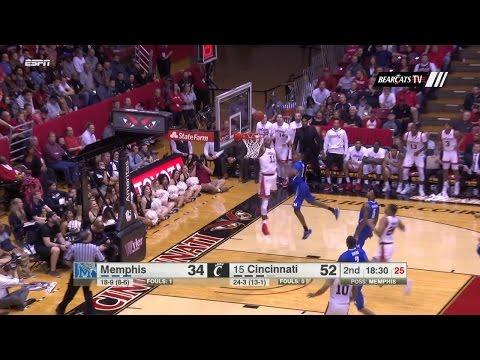 men's-basketball-highlights:-cincinnati-87,-memphis-74-(courtesy-espn)