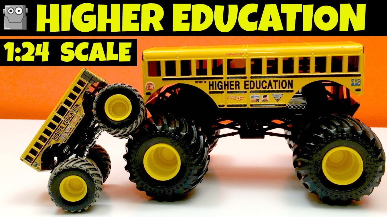 Higher Education 1 24 Scale Monster Jam Truck Grave Digger