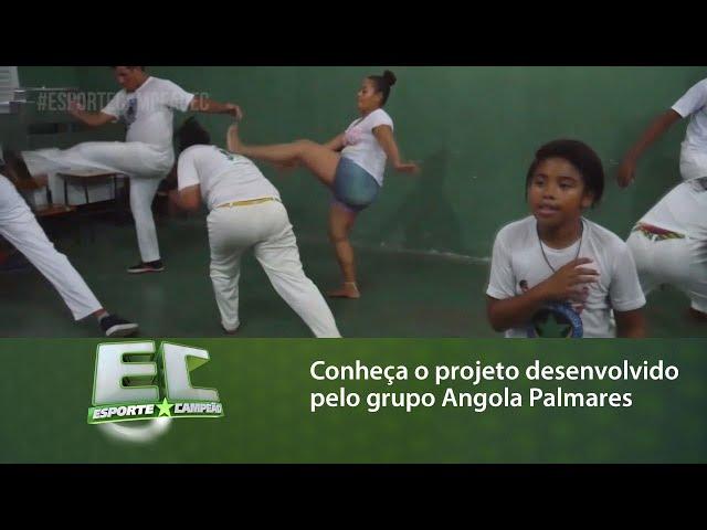 Conheça o projeto desenvolvido pelo grupo de Capoeira Angola Palmares