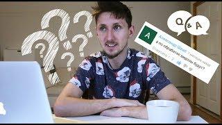 Q&A - Ответы и вопросы! Немного обо мне и моем канале! Смешные коты)