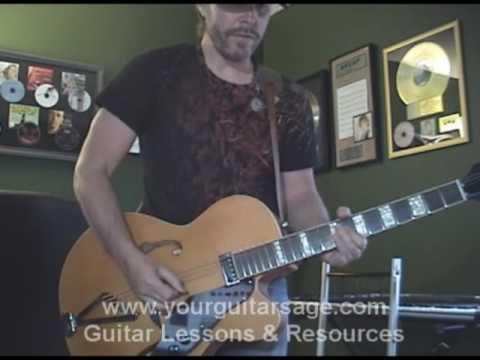 Guitar Lessons Blues Elvis Presley Hound Dog Improvisation Soloing