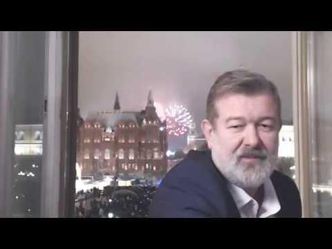 Новогоднее поздравление от Вячеслава Мальцева в прямом эфире!