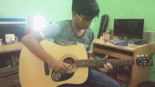 Thik amon avabe (gangster) guitar cover