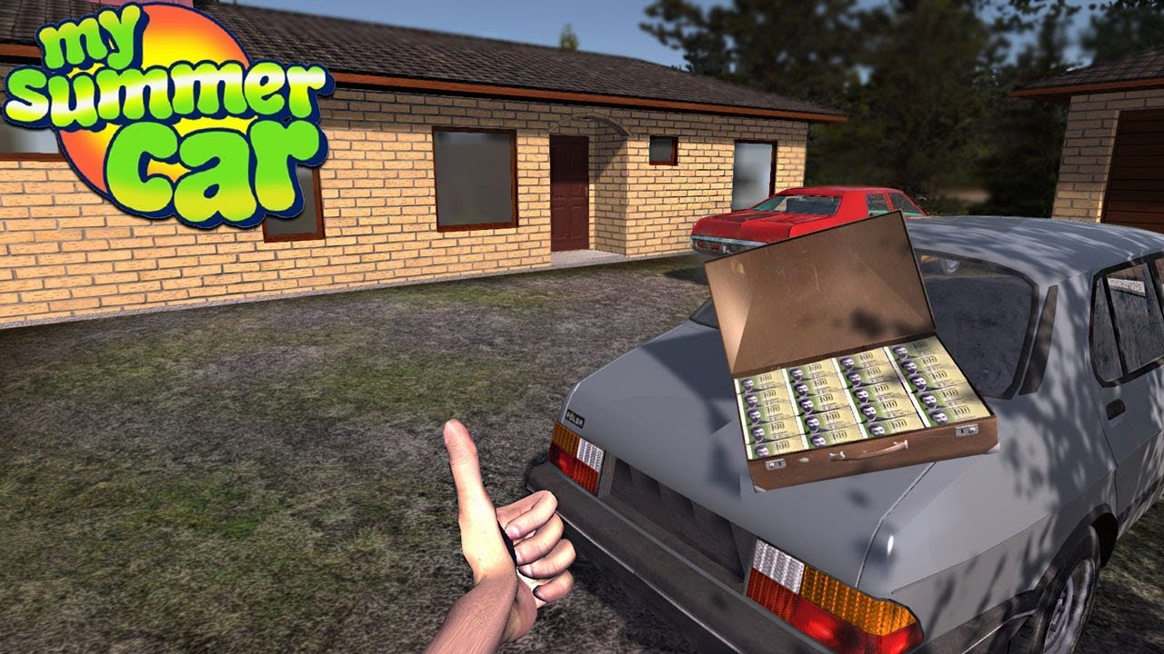 my summer car buying a new house youtube. Black Bedroom Furniture Sets. Home Design Ideas