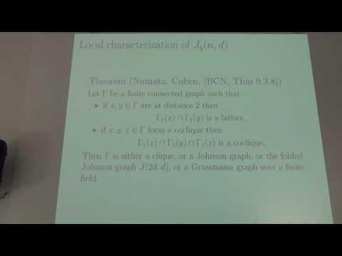 "Alexander Gavrilyuk - Plenary talk ""On characterization of the Grassmann graphs J2(2d+2,d)"""