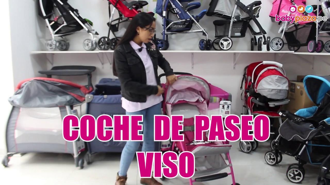 05fc4f5b4 Coches para bebes: Coche Paseo Viso- Baby Kits | BabyPlaza - YouTube