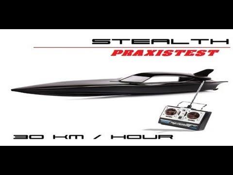 [Praxistest/Review] RC Stealth Speedboat 30km/h by igeschenke.de [German/HD]