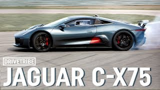 Jaguar C-X75 Hybrid Supercar 2014 Videos