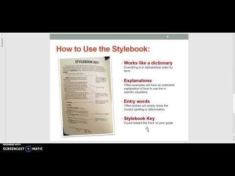 AP Stylebook for Beginners