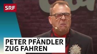 Peter Pfändler über das Leben im Zug | Das Zelt | SRF Comedy