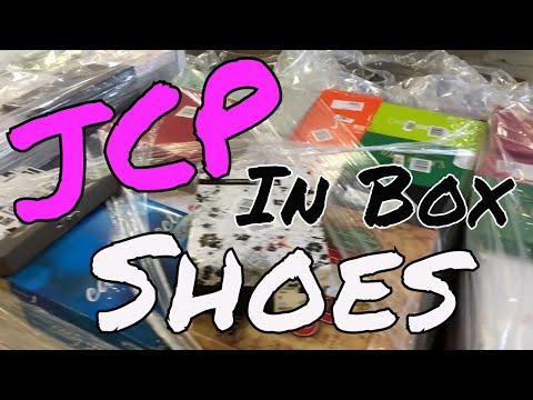 JCP Department Store In Box Customer Return Shoes