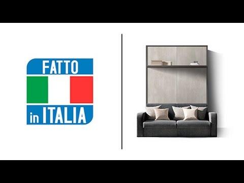 Letto A Scomparsa Verticale Ikea.Mobili Trasformabili In Letto A Scomparsa Letti A Parete Letti A