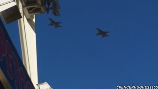 FA-18 Super Hornet Flyover @ 2009 MLB Opening Day - Petco Park San Diego, CA