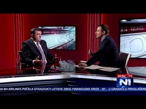 N1 Pressing: gost Milorad Dodik (18.02.2015.)
