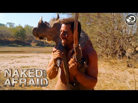 Matt Hunts Down A Warthog | Naked And Afraid
