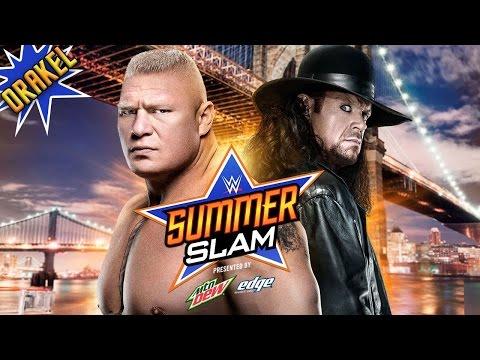 WWE SUMMER SLAM 2015 ORAKEL - WM30 REMATCH: Undertaker vs. Brock Lesnar «» Let's Play WWE 2K15