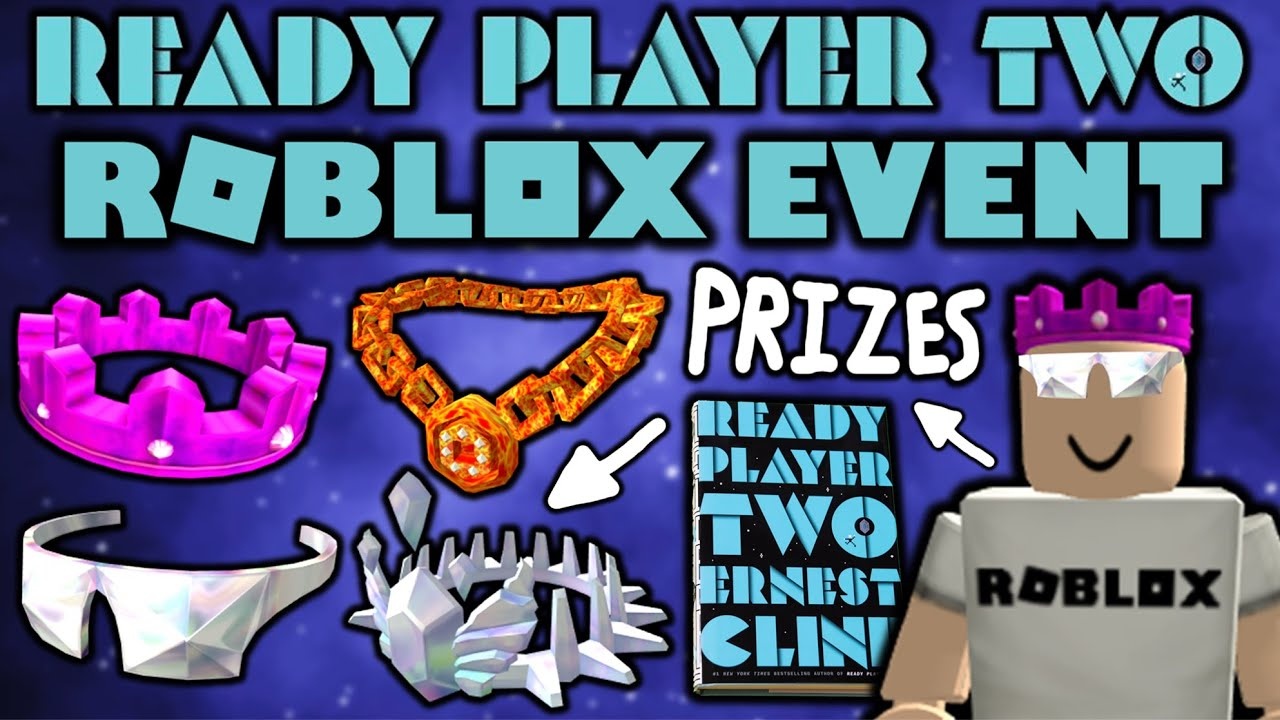 Roblox Ready Player 2 Event Items Released Event Coming Soon Youtube