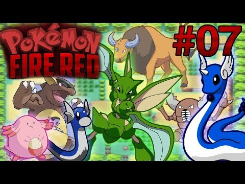 Pokémon Fire Red #07 - SAFARI ZONE, CAPTURANDO TODOS POKÉMON + HM SURF
