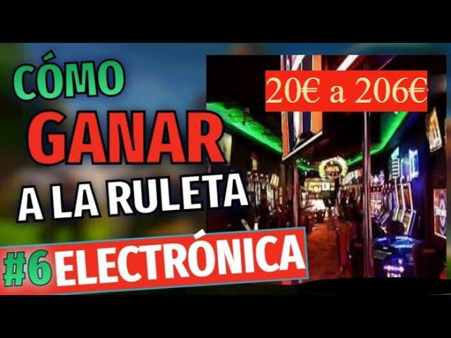 RULETA ELECTRONICA MGA en el SALON DE JUEGOS 20€ A 206€