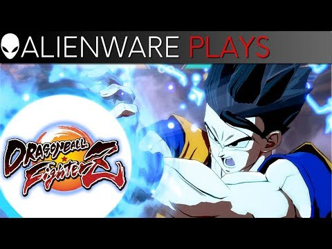 Dragon Ball FighterZ Gameplay - Alienware m15 PC Gaming Laptop (RTX 2060)