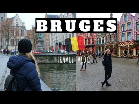 BRUGES, Belgium Travel Vlog | Christmas Markets 2018