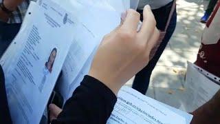 Asociaciones y refugiados se concentran para solicitar acogida