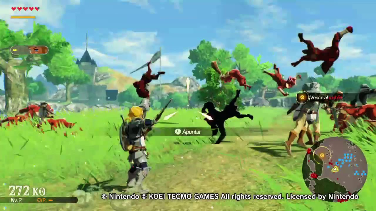 Hyrule Warriors Age Of Calamity Demo Gameplay Youtube