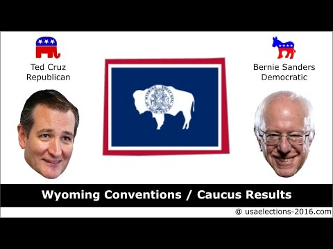 Wyoming Conventions / Caucus Result 2016
